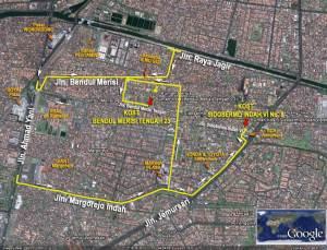 Peta Rumah Kost
